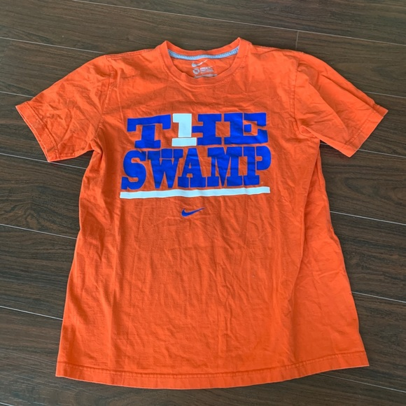 "best sneakers a031a 2f3f0 Nike swoosh tee, Florida Gators UF ""the swamp"""